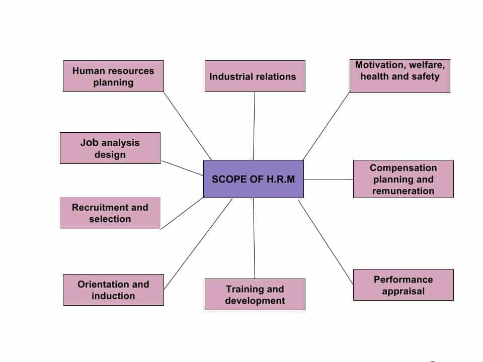 Scope Of HRM