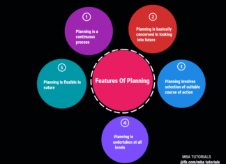 features of planning