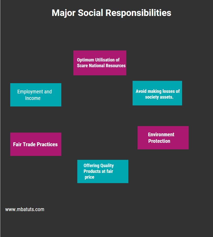 Major Social Responsibilities